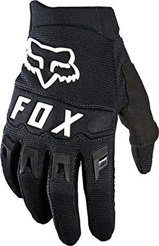 Fox Racing YTH DIRTPAW Glove, Black/White, Large