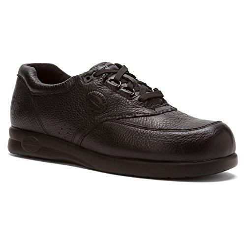 Softspots Men's Grand Prix Black Leather 16 W (Grand Prix Shoes)