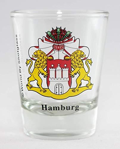 Hamburg Germany Coat Of Arms Shot Glass