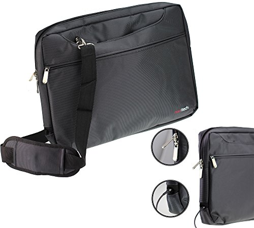 Navitech Black Carry Case/Cover Bag For Portable dvd players Including the...
