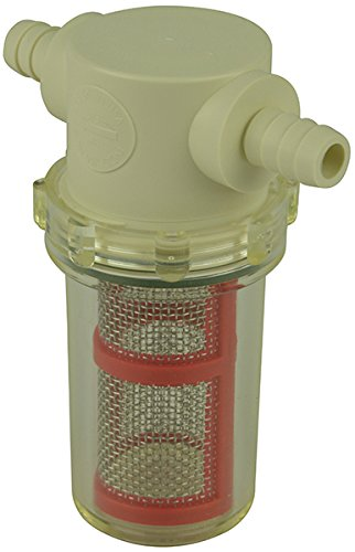 Clear In Line Hose Filter - 9