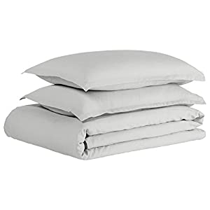 Stone & Beam Reversible Marcana Linen Full/Queen Duvet Cover Set, 90
