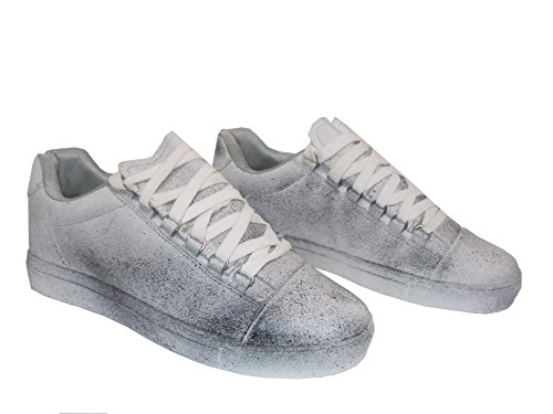 MAPLEAF , Herren Sneaker bianco /nero