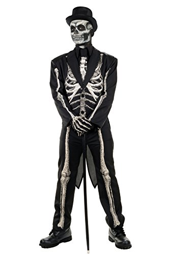 Skeleton Skin Suit (Men's Bone Chillin Skeleton Tuxedo)