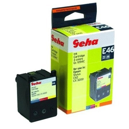 Price comparison product image Geha E46 - colour (cyan, magenta, yellow) - ink cartridge ( equivalent to: Epson T041 )