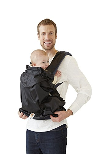 tant Baby Carrier Rain Cover, Black ()