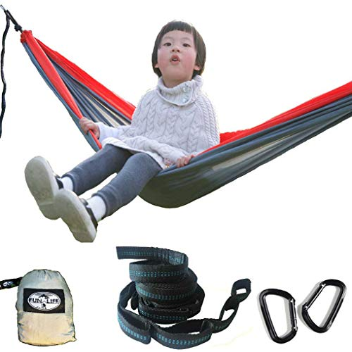 Toddler Small Hammock for Kids in Outdoor/Indoor, Portable Parachute Nylon Hammock Use for 3-16 Years