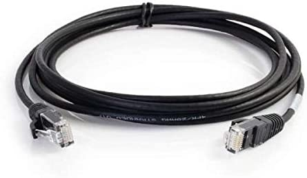 C2G 00672 Cat6a Cable Snagless Shielded Ethernet Network Patch Cable Blue 1 Foot, 0.30 Meters