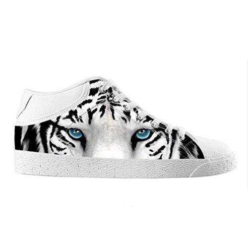 Cheese Weihnachten Glücklicher Tiger Hohe Qualität Schuhe Canvas Custom Chukka für herren, EUR 45.5