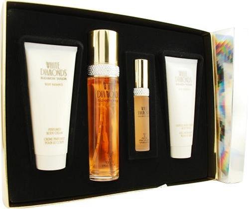 White Diamonds Moisturizing Perfume - White Diamonds by Elizabeth Taylor for Women, Set