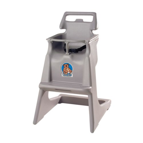 Koala Kare KB103-01 Classic High Chair with Wheels - Gray - Koala High Chairs