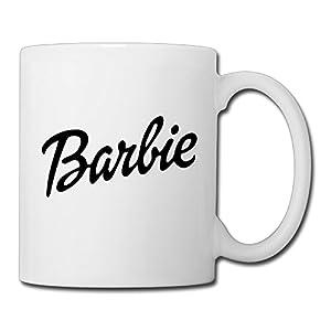 Christina Nicki Minaj Barbie Logo Ceramic Coffee Mug Tea Cup White