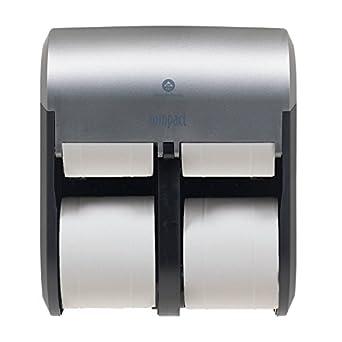 Compact Quad Georgia-Pacific - Dispensador de papel higiénico (4 rollos)