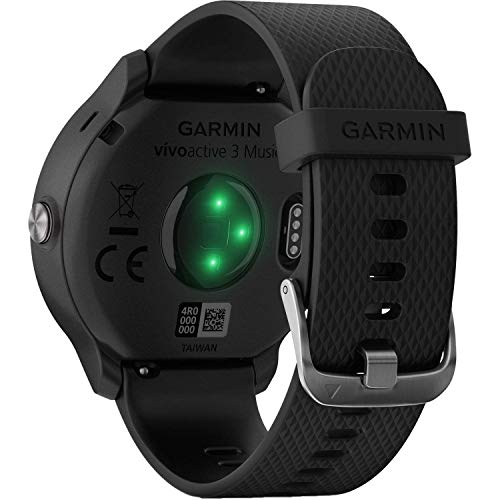 Garmin vivoactive 3 Music (Black with Stainless Hardware) Base Accessory Kit