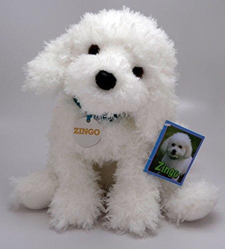 Toy Bichon Frise - Zingo Bichon Frise 14 inch - Stuffed Animal by Toys & Co. (564TC)