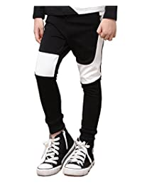 NABER Boys' Color Block Slim Fitted Jogging Bottoms Joggers Trousers 4-13 Y