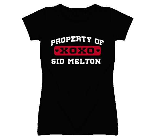 Sid Melton Attribute of I Love T Shirt S Black