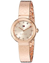 Tommy Hilfiger Women's Quartz Gold Automatic Watch(Model: 1781715)