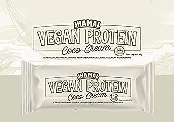 Barra de Proteina Vegan Protein Coco cream 12 Unidades de 50g