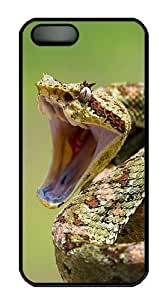 2013 Year Of The Snake Special Edition Desktop Polycarbonate Custom iPhone 5S/5 Case Cover - Black