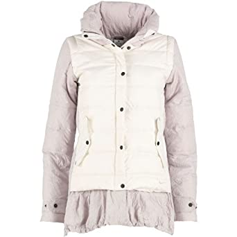 75aa1c620a193 Nike Womens Uptown Padded Jacket Sail/Bone - XS UK 4-6 To Fit Bust 76-83cm  Euro 32 - Off White/Grey: Amazon.co.uk: Clothing