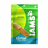Iams Tartar Treats for Large Dogs, 4-Count Pouches (Pack of 2), My Pet Supplies