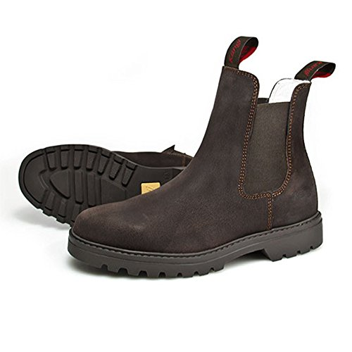 hoboshoes Trenino Stivaletto kängi, Dark Brown, marrone, 42