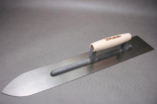 Bodenlegerkelle - Steinholzglätter mit 1,2mm Stahlblatt - Länge: 500mm