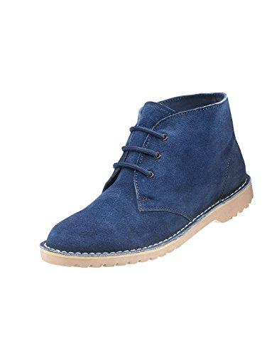 Boots Degli Scamosciata Pelle In Desert Uomini Navy 4xq6RwdwWS