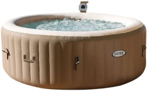 Spa hinchable Intex PureSpa Bubble Therapy 28402ED: Amazon.es ...