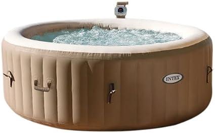 Spa hinchable Intex PureSpa Bubble Therapy 28402ED: Amazon.es: Jardín