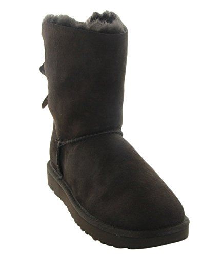 UGG Women's Bailey Bow II Chocolate Boot 10 B (M) by UGG