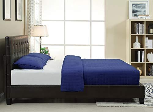 Ledge Tufted Platform Bed