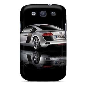 Samsung Galaxy S3 Srn3335TCcq Customized HD Audi R8 Skin Protector Cell-phone Hard Covers -LauraAdamicska