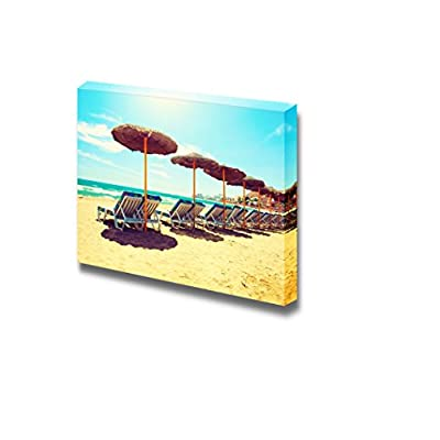 Incredible Work of Art, Beautiful Scenery Landscape Spain Beach Costa Del Sol of Mediterranean Sea Vacation Concept Wall Decor, Premium Creation