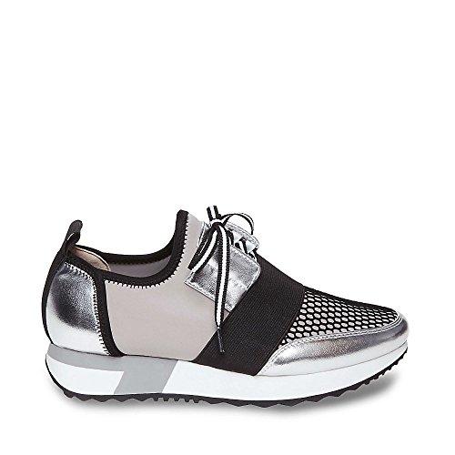 Steve Madden Womens Sneaker Sneaker Argento Multi