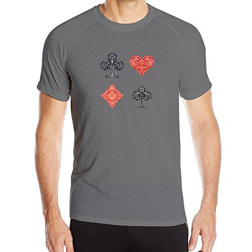 Grand Performance Chips (BENZ47' Men's Sportwear Poker Card Powertrain Performance Tee DeepHeather)
