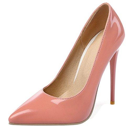 9 Pink Col Colors Tacco Donna Scarpe Heel 10CM Formale Zanpa qwRX0TW