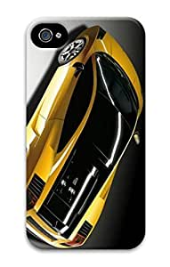 3D PC Back Case Cover for iPhone 4 Hard Shell Skin for iPhone 4 with Future Model Car