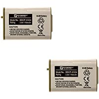 Lenmar CB0103 Cordless Phone Battery Combo-Pack includes: 2 x SDCP-H324 Batteries