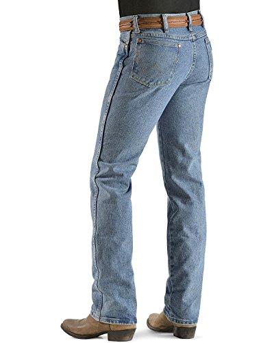 Wrangler Men's Cowboy Cut Slim Fit Jean, Antique Wash, W35 L34 (Antique Wash Jean)