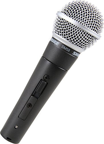 Shure SM58S Vocal Switch Microphone