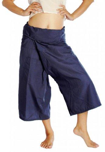 UPC 712392397964, Siam Secrets Capri Fisherman Pants One-size 3/4 Length Yoga Wrap Pants Grey