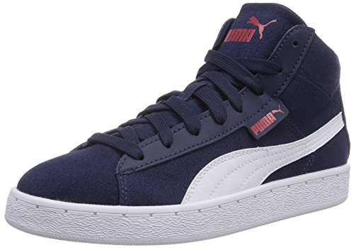 adulte hautes Cv Bleu Peacoat white mixte 02 Mid Puma 48 Baskets Blau xw6anYOS