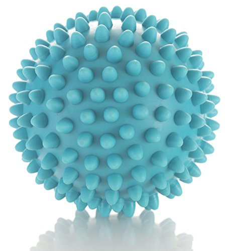 Myofascial Trigger Point Release (Spiky Massage Ball - Deep Tissue Foot Massager - Lacrosse Balls with Spike to Improve Reflexology and Mobility - Trigger Point Roller for Myofascial Release and Plantar Fasciitis)