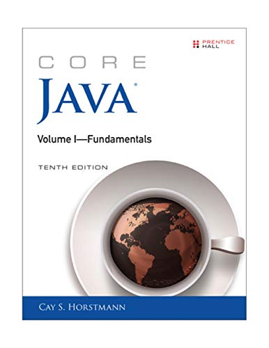 Core Java Volume I--Fundamentals (10th Edition) (Core Series)