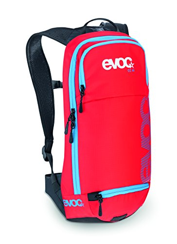 EVOC CC 6l   Lightweight backpack PERFOMANCE 6 Liters   Petroleum Red Rot, 6 Liter Size:standard size