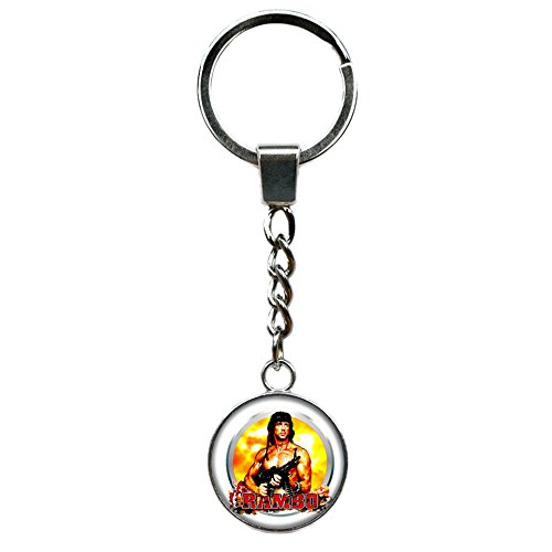 Athena Brand Rambo Movie Key Ring Keychain for House Boat Auto -