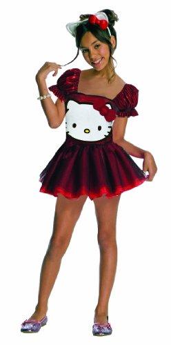 Hello Kitty Sequin Hello Kitty Dress Child Costume - Small