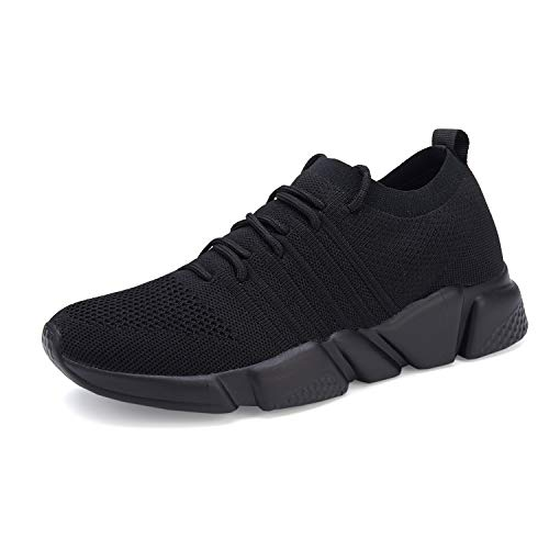 WXQ Men s Running Shoes Fashion Breathable Sneakers Mesh Soft Sole Casual Athletic Lightweight Walking Shoes